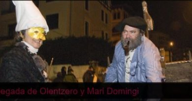 Olentzero y Mari Domingui llegan este lunes a Getxo,