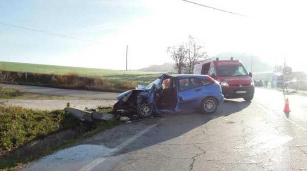 Un vitoriano de 24 años fallece en un accidente en Navarra,