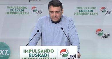 """El PNV considera """"una acusación muy grave"""" sugerir que Euskadi ha pasado de fase sin cumplir con los parámetros,"""