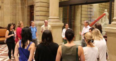 Más de 2.400 personas han participado en las visitas a la Diputación de Gipuzkoa,