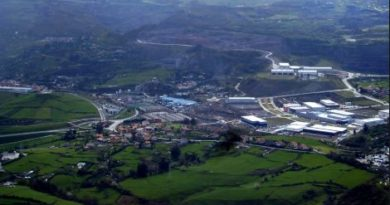 Dos personas resultan heridas en un accidente en Ortuella,