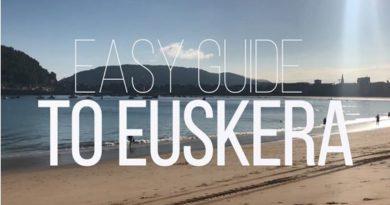 """La campaña """"Easy Guide To Euskera"""" dará a conocer el euskera a los visitantes de Donostia,"""