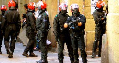 Un hombre resulta herido de un disparo en la ingle en Bilbao,
