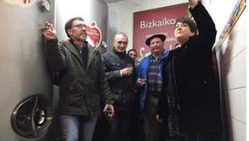 Bizkaia comienza su temporada de sidra con una producción de 108.000 litros,