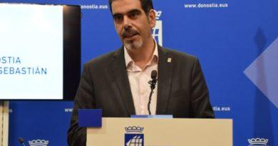 El alcalde de Donostia detalla los principales retos de la ciudad para el 2019,