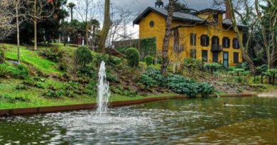 Cierran el parque de Cristina Enea por el temporal,