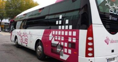 Nuevas paradas a demanda en los autobuses forales,