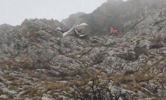 Hoy continúan con la búsqueda del segundo tripulante de la avioneta siniestrada en Hernio,