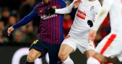 Messi logra su gol 400 frente al Eibar,
