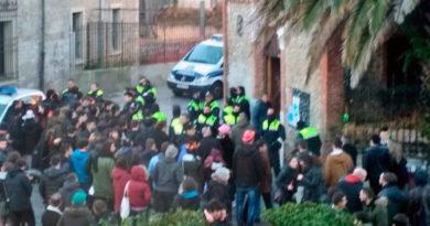 Cinco detenidos en el desalojo del Gaztetxe de Vitoria,