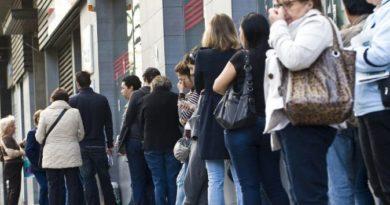 El paro en Euskadi aumenta en más de 3.400 personas en el mes de enero,
