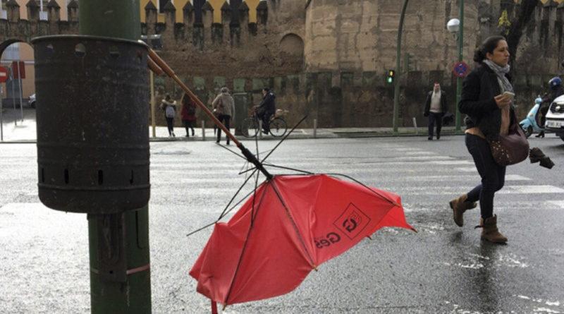 El temporal azota Euskadi,
