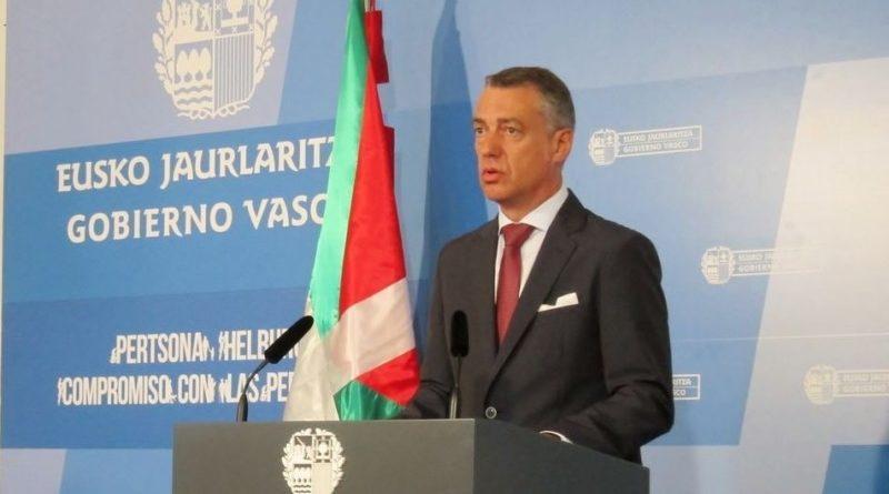 Urkullu anuncia nuevos avances en el cumplimiento del Estatuto de Gernika,