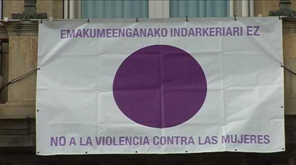 Sólo cinco localidades vizcaínas no han registrado agresiones contra mujeres,