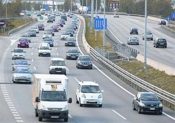 Varios tramos de las carreteras de Vizcaya disminuyen su velocidad,