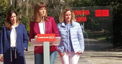 Idoia Mendia contrapone la oferta de diálogo y convivencia del PSE-EE alavés a la confrontación que buscan Maroto y Abascal,