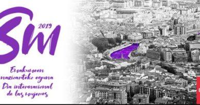 Bilbao rinde homenaje a todas las mujeres que trabajan por la igualdad,