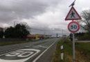 Álava ejecuta medidas de calmado de tráfico en la travesía de Laguardia