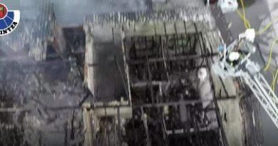 Detienen en Bergara al presunto autor del incendio de un inmueble abandonado en Donostia en el que falleció una persona,