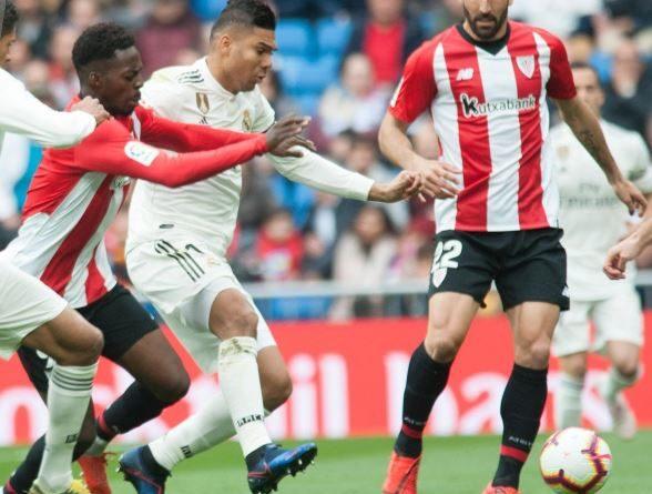 El Athletic se inhibe en el Bernabéu,