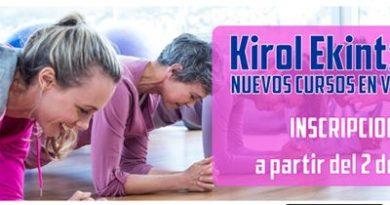 Los cursillos deportivos de Kirol Ekintzak ofrecerán 5.000 plazas en verano,