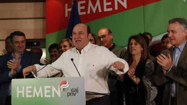PNV vuelve a conquistar Euskadi,