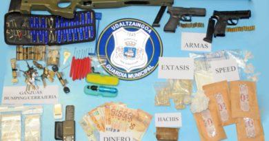 Arrestan a dos personas en Donosti por un presunto delito contra la salud pública,
