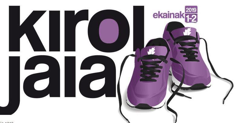 Kirol Jaia, en su XV edición, se celebrará el primer fin de semana de junio en 35 municipios de Bizkaia,