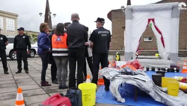 Participan por primera vez en un ejercicio europeo de protección civil en Portugal con un equipo de emergencias químicas,