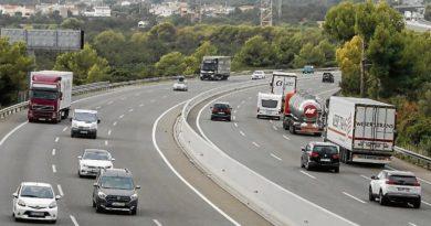 La A-15 cerrará el viernes por las obras del túnel de San Lorentzo-Larre,