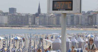 Euskadi empieza a notar la primera ola de calor del verano,