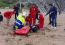 Testada con éxito la coordinación de servicios para atender emergencias en las playas de Bizkaia
