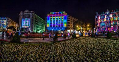 La Noche Blanca de Bilbao, un show para disfrutar en familia,