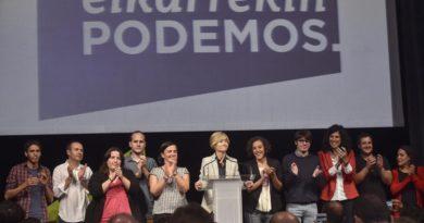 """Podemos Euskadi cree que el aniversario de la república es """"buen momento para pensar en un futuro republicano y mejor"""","""