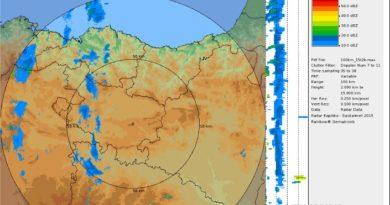 Según Euskalmet, aumento significativo de las temperaturas,