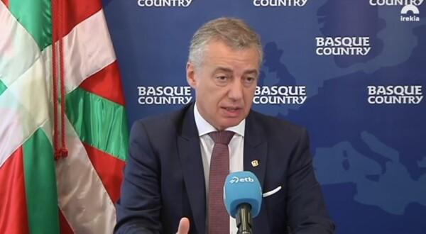"""Urkullu traslada al Rey que """"ahora se presenta el objetivo y la oportunidad de actualizar el Autogobierno vasco"""","""
