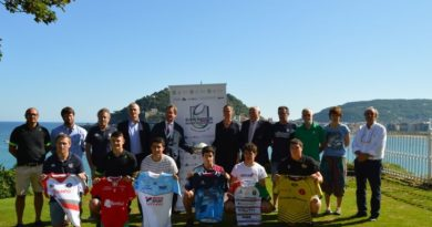 Aquitania-Euskadi-Navarra presentan la Euro Basque Rugby Challenge,