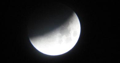 Vitoria disfrutará esta noche de un eclipse parcial de Luna