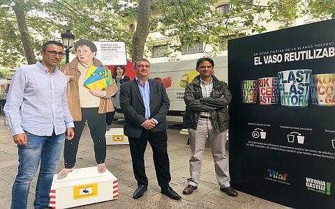 El Ayuntamiento de Vitoria-Gasteiz acentuará la limpieza y la recogida de residuos durante las fiestas de La Blanca,