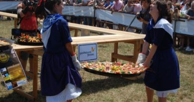 Las paellas de Aixerota contarán con toldos ignífugos para evitar accidentes,