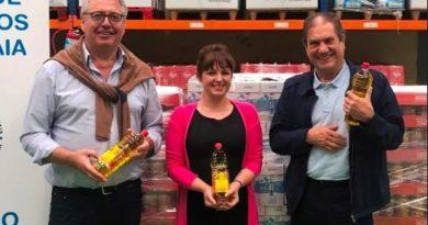 Mercadona entrega 2.500 kilos de productos al Banco de Alimentos de Gipuzkoa,