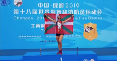 La representación de la Ertzaintza cierra su participación en los Juegos Mundiales de Chengdu con un total de 11 medallas,