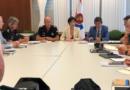 Conforman una mesa de seguridad para garantizar la seguridad pública y vial durante el G7