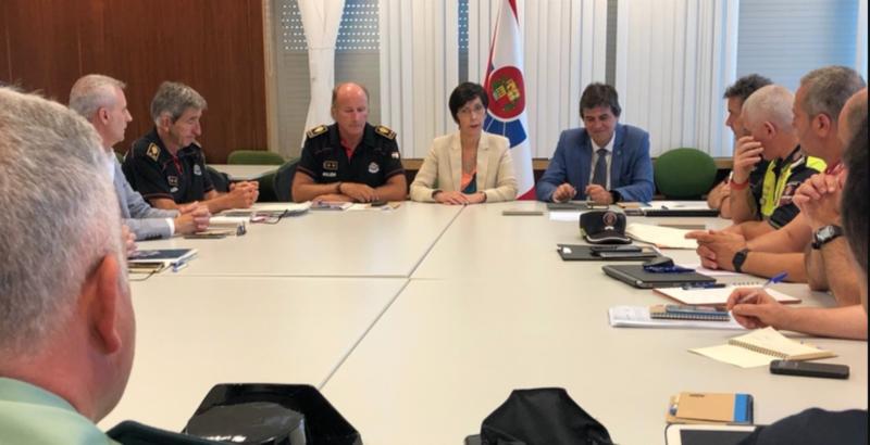 Conforman una mesa de seguridad para garantizar la seguridad pública y vial durante el G7,