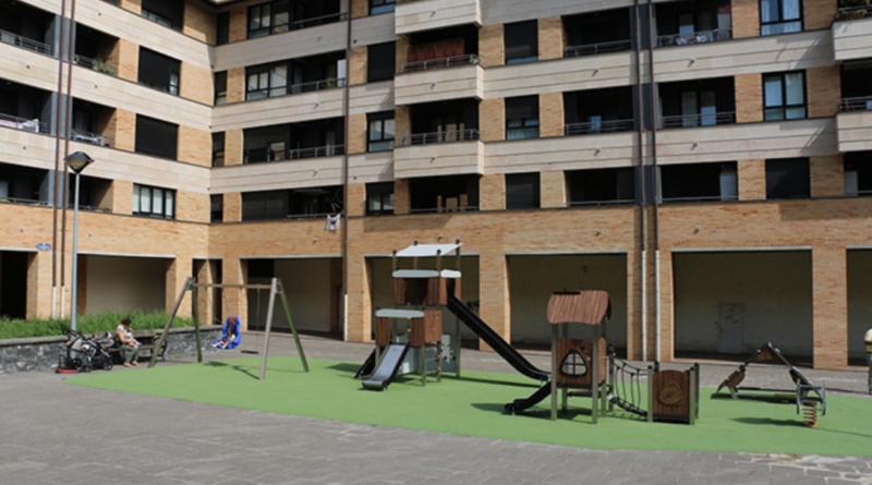 Abren un nuevo espacio de juegos infantiles en Buenavista (Donostia),