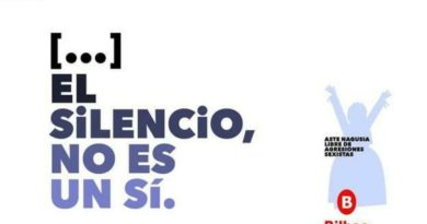 El grave error ortográfico del Ayuntamiento de Bilbao en su campaña contra las agresiones sexistas,