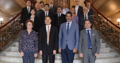 Una delegación china visita Donostia para firmar un protocolo de intenciones con el Ayuntamiento,