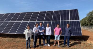 El sistema de riego con energía solar de Orbiso logra bombear agua a 30 hectáreas de cultivos,