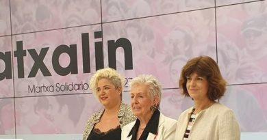 """La """"marea rosa"""" recorrerá las calles de Donostia en favor de las personas afectadas por el cáncer de mama,"""