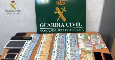 Dinero guardia civil